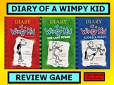 DIARY OF A WIMPY KID Review Game Template POWERPOINT