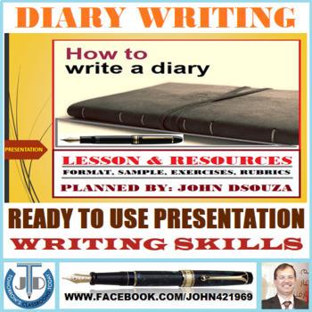 DIARY WRITING: READY TO USE PRESENTATION