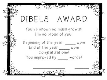DIBELS Award (ORF)