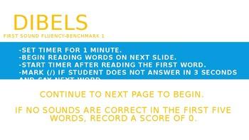 DIBELS Benchmark 1: Made Easy!