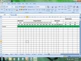 DIBELS Benchmark and Progress Monitoring Spreadsheet K-5
