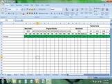 DIBELS Benchmark and Progress Monitoring Spreadsheet K-5