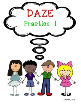 DIBELS DAZE Practice 1
