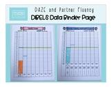 DIBELS DAZE and Partner Fluency Data Binder Page