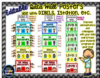 DIBELS Data Wall Posters