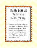 DIBELS Math Progress Monitoring Pages