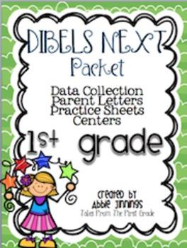 DIBELS NEXT- Data Collection, Parent Letter, Practice Sheets, and Centers