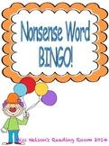 DIBELS NWF BINGO Game!  Fun Nonsense Word Practice!