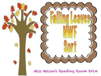 DIBELS NWF Falling Leaves Sort