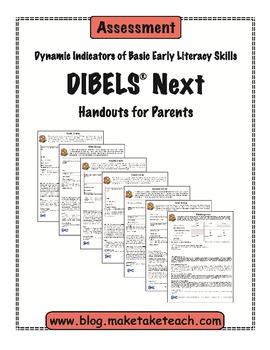 DIBELS Next Parent Handouts-Revised
