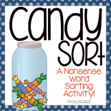 "DIBELS Nonsense Word Sort (NWF) ""Candy Sort"""