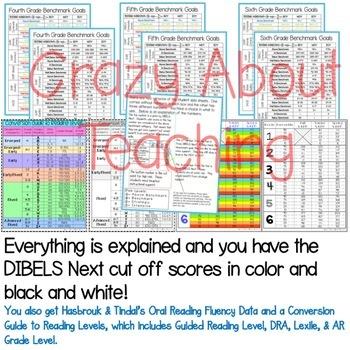 DIBELS & PROGRESS MONITORING for 4-6 Grades