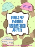 DIBELS Phoneme Segmentation (PSF) Ice Cream Theme