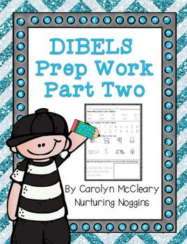 DIBELS Prep Bellwork (Part 2)