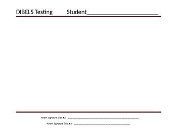 DIBELS Progress Chart