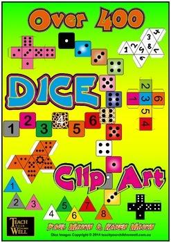 DICE Clip Art - 400 +