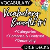 3 Vocabulary Games: Categories, Compare & Contrast, & Describing