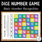 Dice Number Games - Basic Number Recognition 1-6
