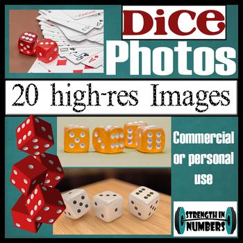over 20 DICE Photos High Resolution Commercial Photographs Clip Art