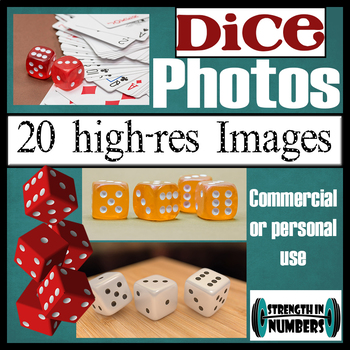 over 20 DICE Photos High Resolution Commercial Photographs Clip Art