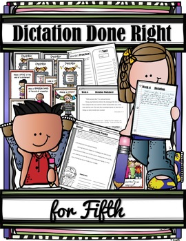 DICTATION DONE RIGHT for FIFTH