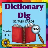 DICTIONARY DIG • Fun Scavenger Hunts • Grades 4–6
