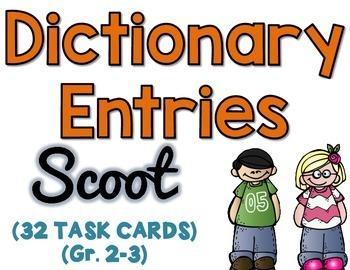 Dictionary Entries