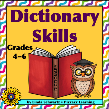 NEW! DICTIONARY SKILLS • Activities to Help Explore the Dictionary