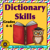 DICTIONARY SKILLS • Activities to Help Explore the Dictionary