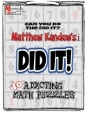 DIDIT! - Math Puzzles, Mental Math Fun