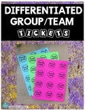 DIFFERENTIATED GROUPING CARDS *An easy & fast way to sort