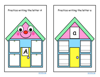 DIFFERENTIATED Happy House Handwriting