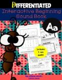 "DIFFERENTIATED Interactive Beginning Sound ""A"" Book...DIST"