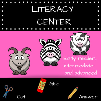 DIFFERENTIATED LITERACY CENTERS K-4 CC STANDARDS ALIGNED