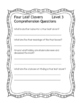DIFFERENTIATED March Fluency Passages and Comprehension 3 Levels