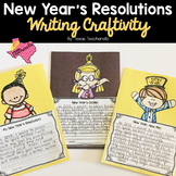 Differentiated New Year's Resolutions Writing Craftivity