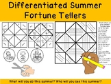 DIFFERENTIATED SUMMER FORTUNE TELLERS! k12345