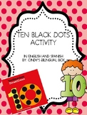 DIFFERENTIATED TEN BLACK DOTS BY DONALD CREWS IN ENGLISH AND SPANISH