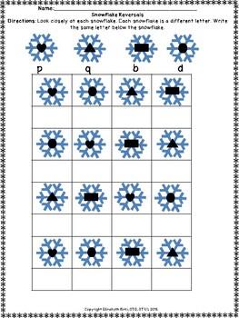 DIFFERENTIATED snowflake REVERSAL bdpq & GROSS MOTOR k12345