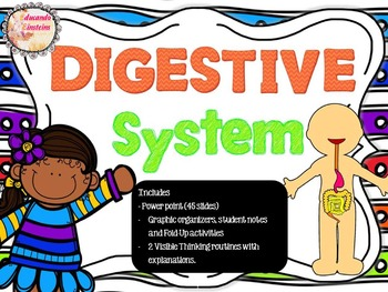 DIGESTIVE SYSTEM PACK: PowerPoint, Student notes, Fold-Ups