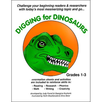 DIGGING FOR DINOSAURS Gr. 1-3