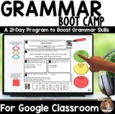 DIGITAL 21-Day Grammar Boot Camp for Google Classroom™ - D