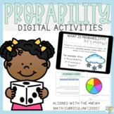 DIGITAL | 2nd Grade PROBABILITY | 2020 Ontario Curriculum | No Prep!
