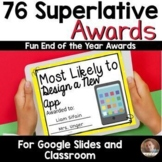 DIGITAL 76 End of Year Awards for Google Classroom™ - Supe