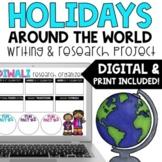 DIGITAL AND PRINT - Holidays Around the World Writing and