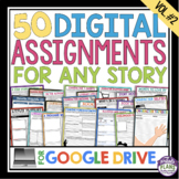 DIGITAL ASSIGNMENTS FOR ANY READING - GOOGLE DRIVE (VOL 2) | DISTANCE LEARNING
