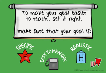 DIGITAL Activity for Goal Setting, Grades 4-6