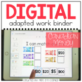 DIGITAL Adapted Work Binder ( Canada Money )