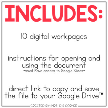 DIGITAL Adapted Work Binder ( Community Helpers )