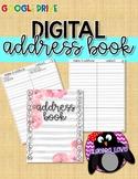 DIGITAL Address Book, Contacts *Google Drive*